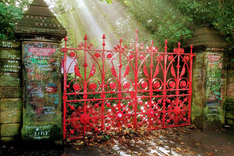 A favourite escape for young John Lennon and its influence on the Beatles song, Strawberry Fields Forever.