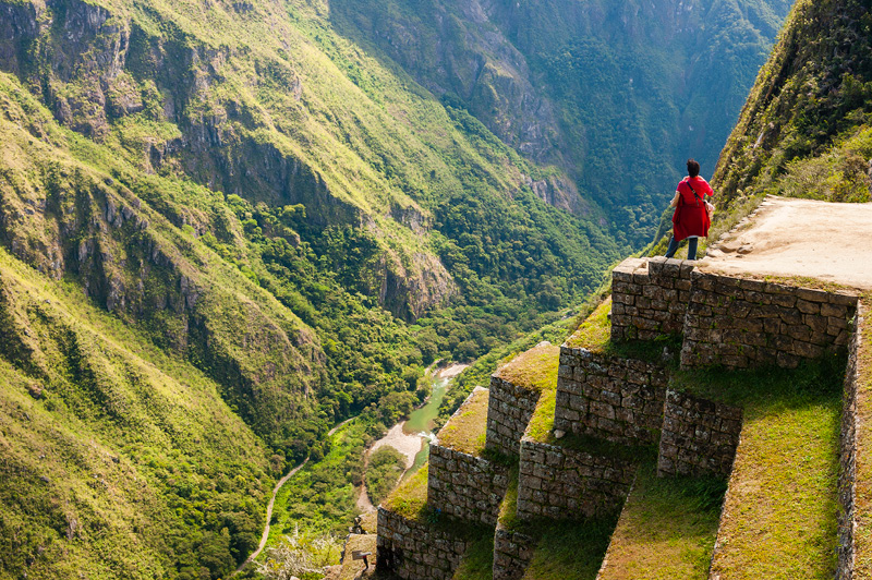 Did you know Inca builders originally laid down the stones that make up the Inca trail and include around 1600 steps.