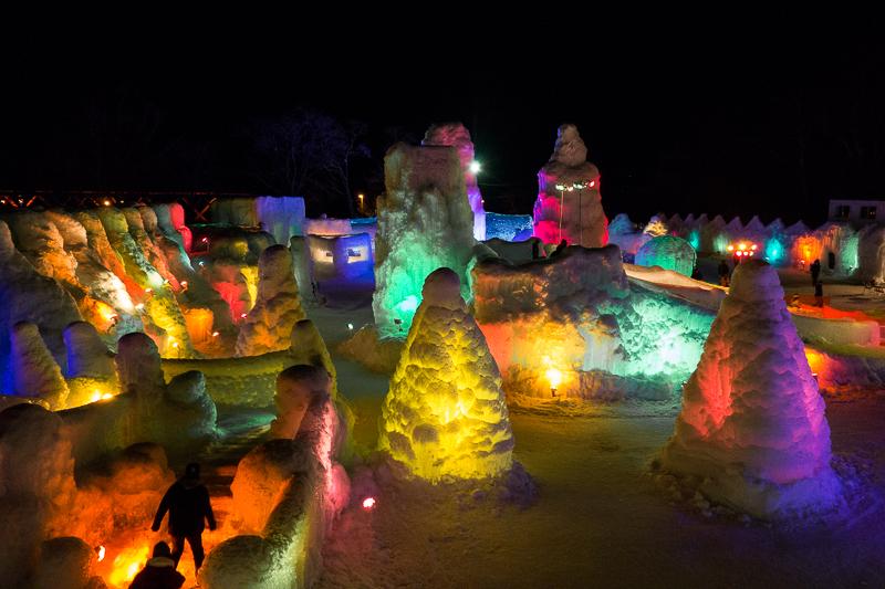 Shikotsuko Ice Festival, Japanese culture