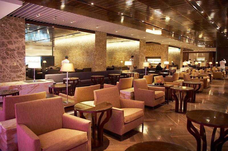 SilverKris Lounge at Singapore Changi International Airport Terminal 3