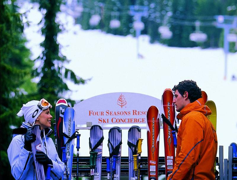 Ski concierge at Four Seasons Resort Whistler