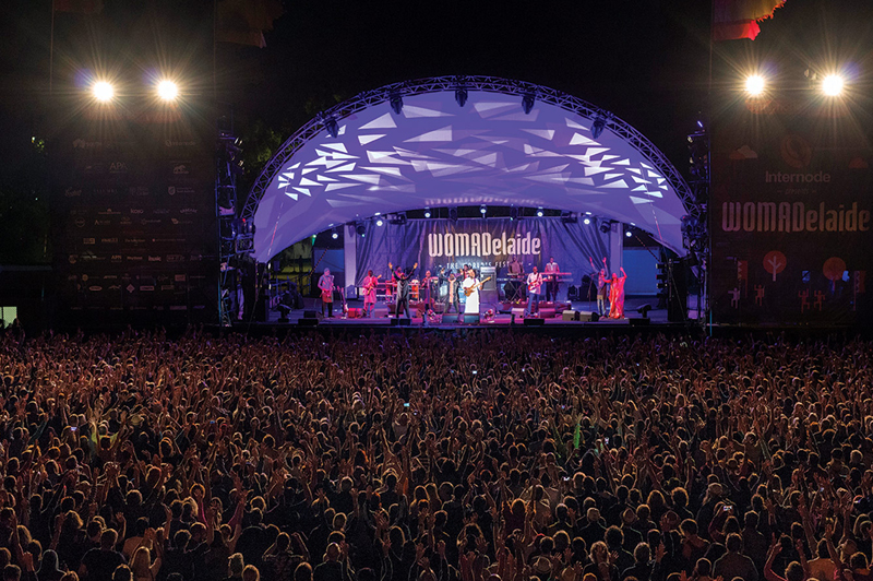 WOMADelaide, Adelaide