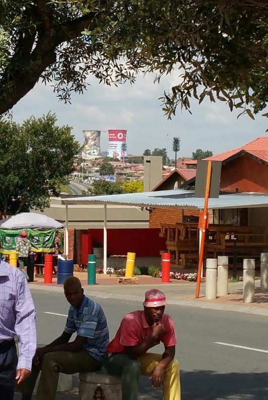 Soweto locals Johannesburg
