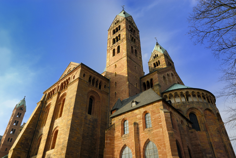 Speyer Cathedral Rhine Germany