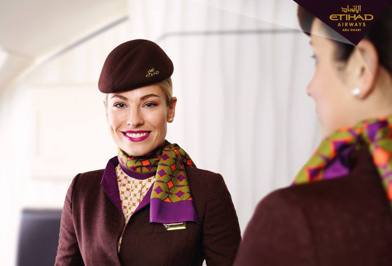 Etihad Airlines staff