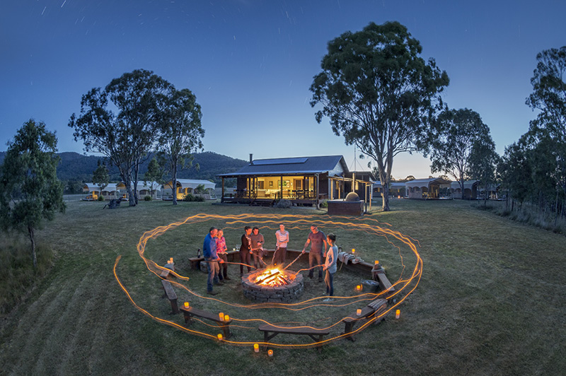 Spicers Scenic Rim Trail Walk and Glamping