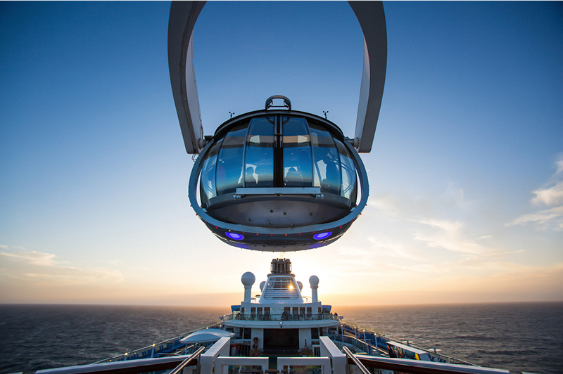Royal Caribbean International NorthStar Viewing Pod