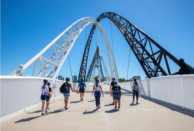 Matagarup Bridge Zip and Climb