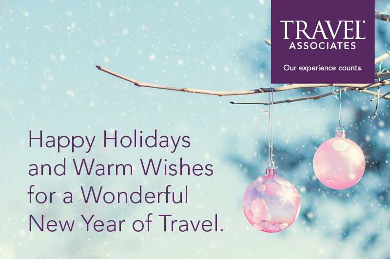 Happy Holidays from Travel Associates