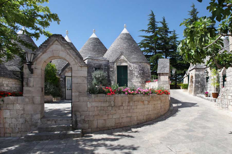The charming Trulli Houses of Tenuta Monacelle