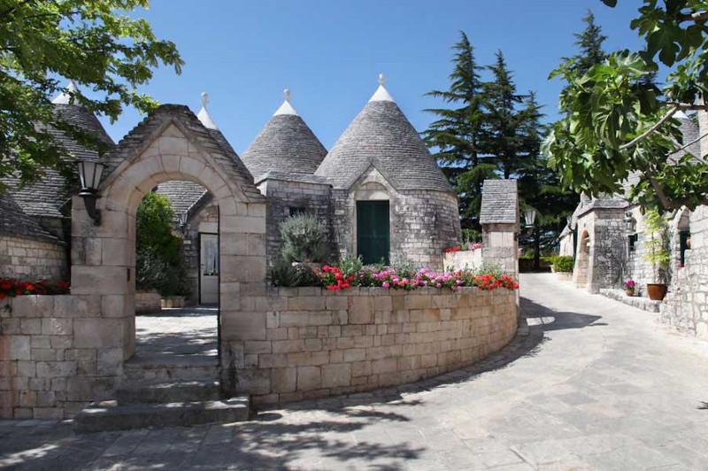 The charming Trulli Houses of Tenuta Monacelle