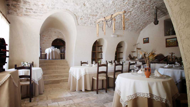 Ristorante il Ciliegeto, housed in an 18th century convent.