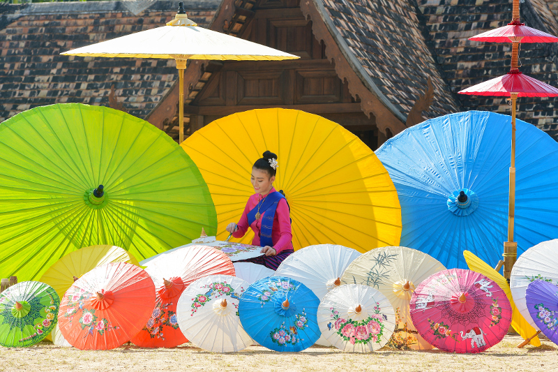 Thailand Umbrella Festival