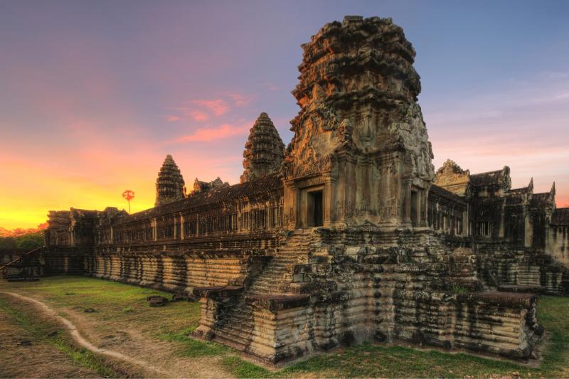 The Bakan Angkor Wat Temple