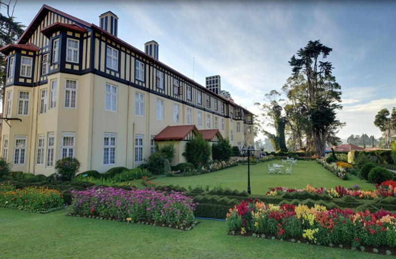 The Grand Hotel in Sri Lanka, a stunning colonial building