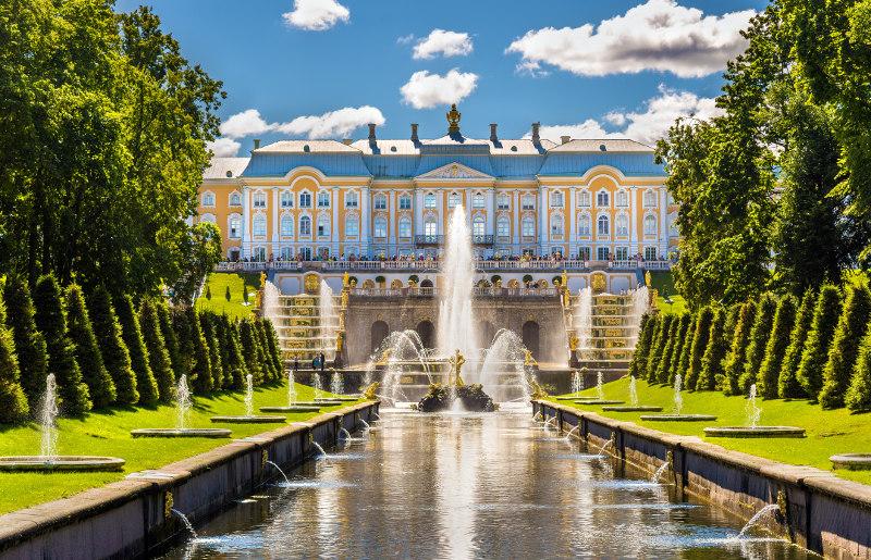 The Grand Palace Peterhof, Russia