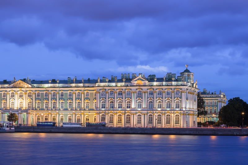 The Hermitage Museum St Petersburg, Russia