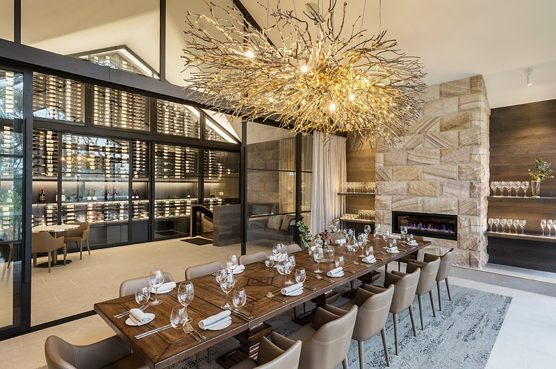 Private dining at eRemo Restaurant, Spicers Guesthouse