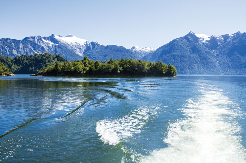 The Inside Passage Of The Chilean Fjords