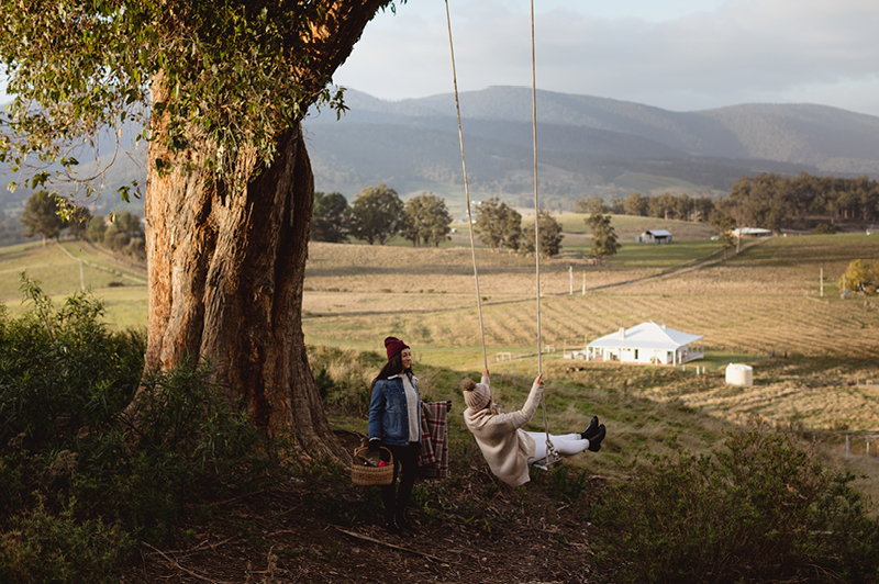 Picnic in the Huon Valley, TAS (Image Credit: Samuel Shelley)