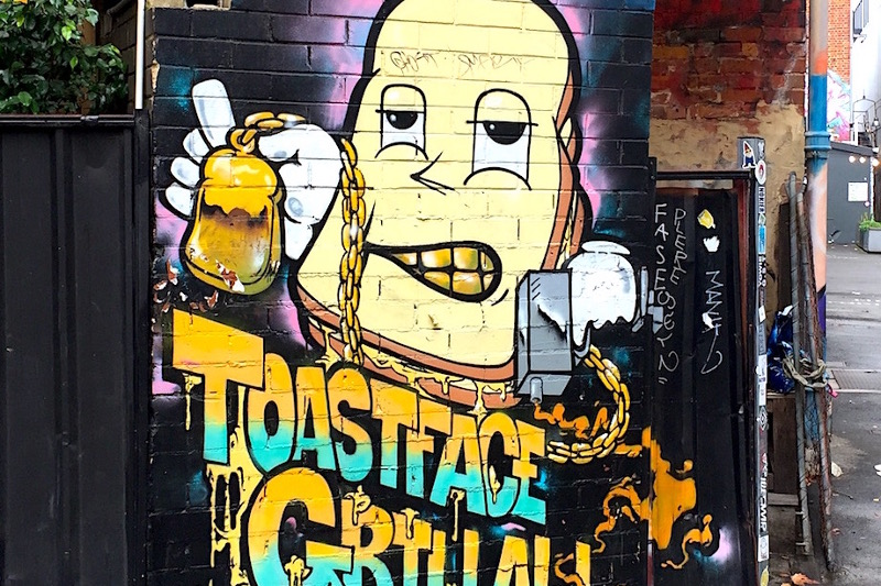 Toastface Grillah Perth, Australia