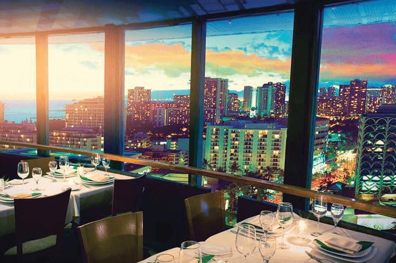 Top of Waikiki revolving restaurant