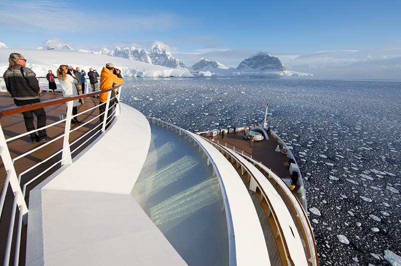 Seabourn Quest in Antarctica