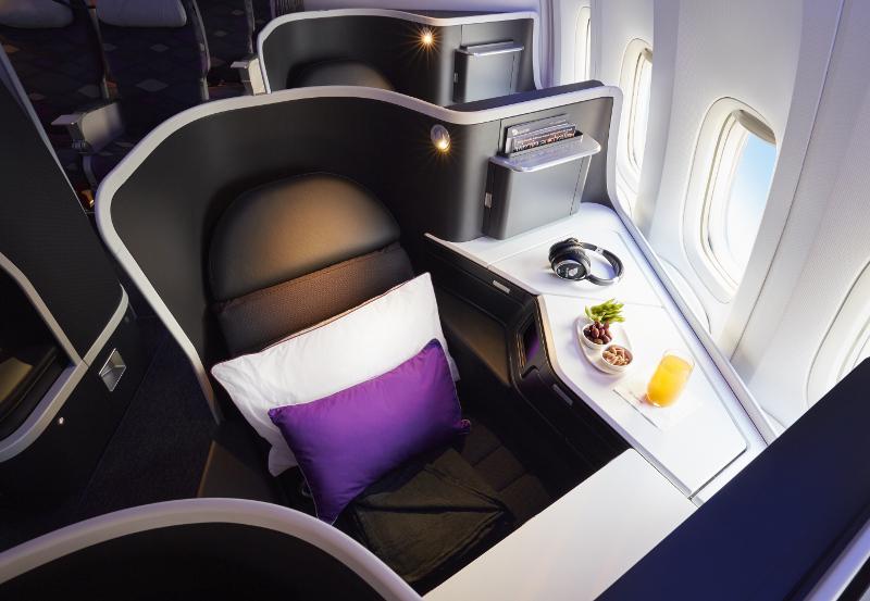 Virgin Australia The Business Seat