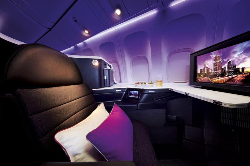Virgin Business Class Seat