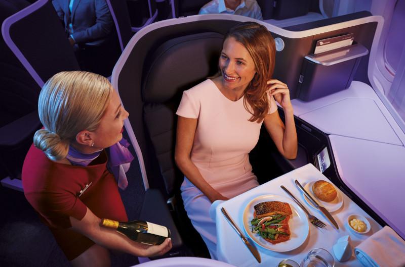 Virgin Business Class service