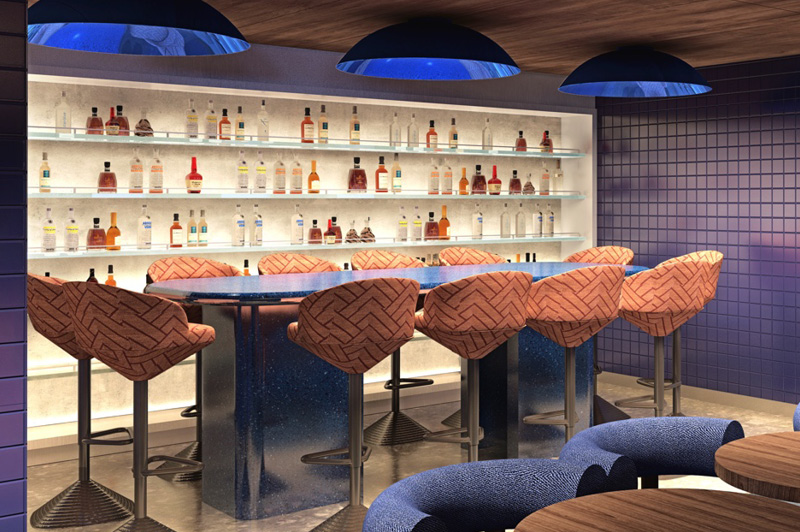 Dining on Virgin Voyages