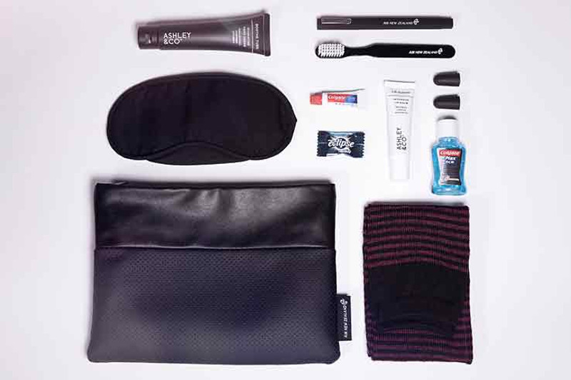 air new zealand business premier amenity kit