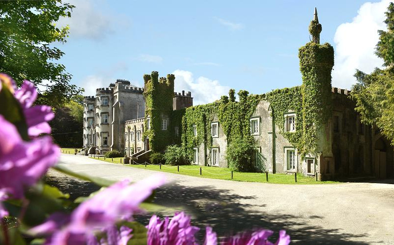 Ballyseede Castle in County Kerry, Ireland