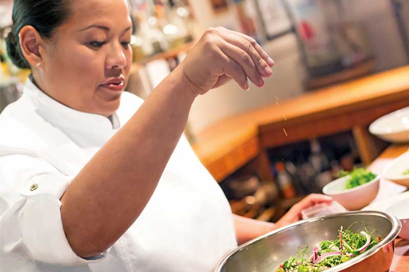 Hawaiian Airlines' Executive Chef, Lee Anne Wong