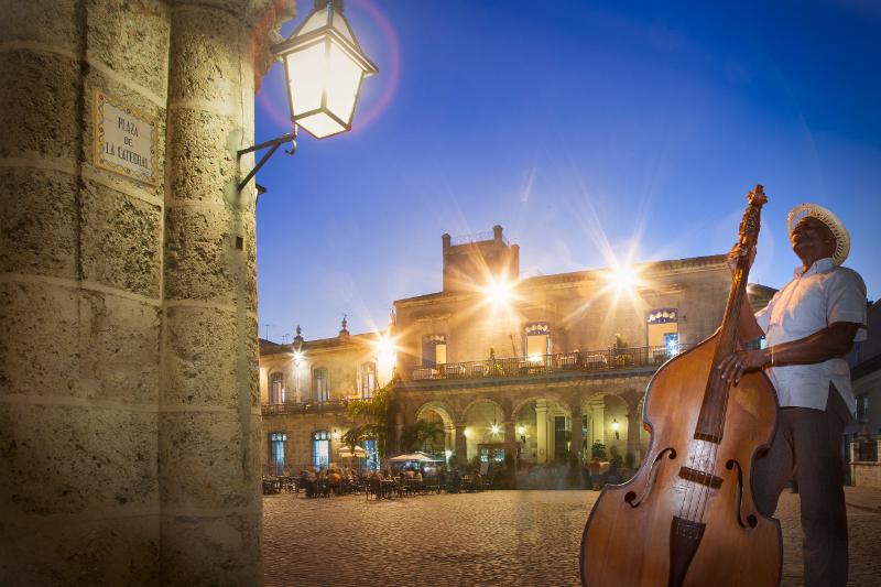 Musician in Old Havana, Cuba.