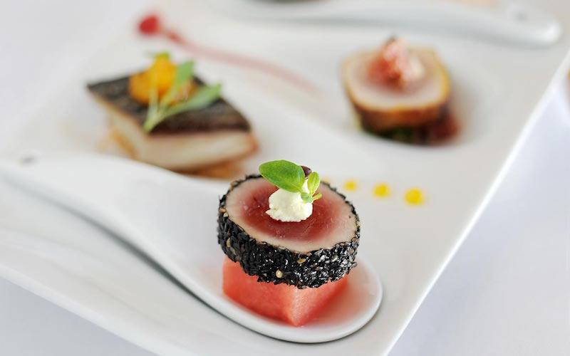 food sushi platter qualia