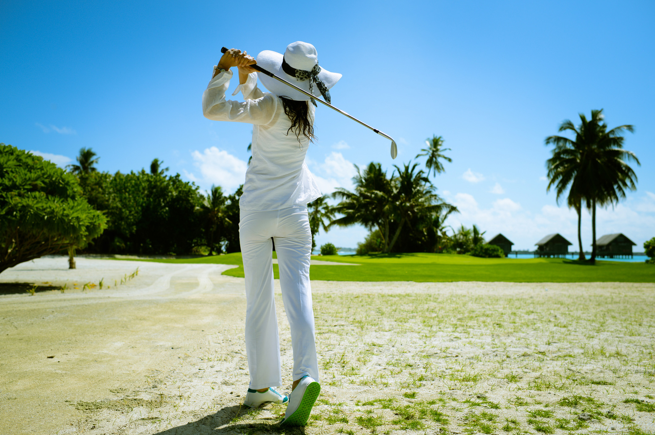 Mauritius boasts a large number of golf courses, many of which offer open coastal panoramas.