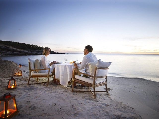 lizard island beach dining