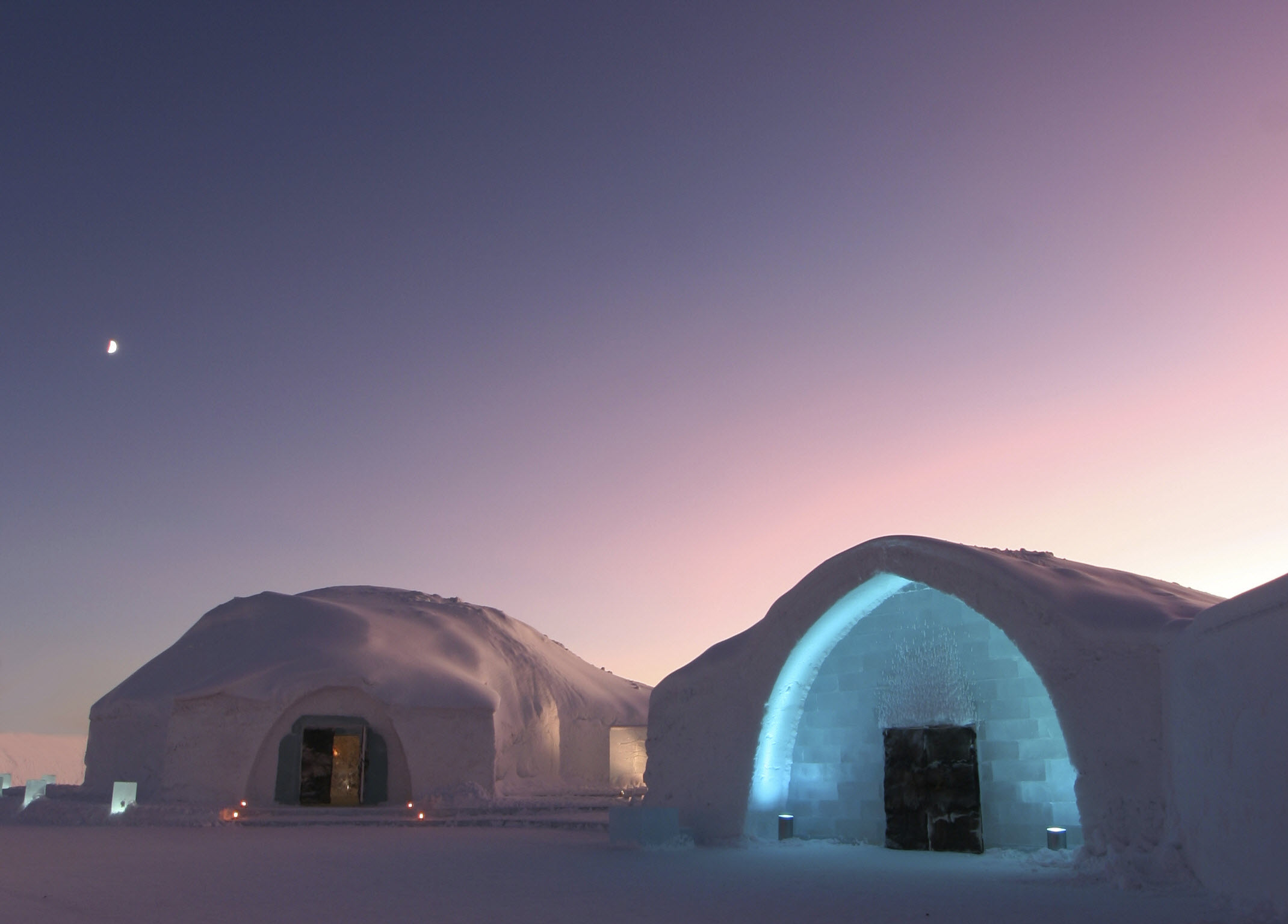 ICEHOTEL, Northern Sweden