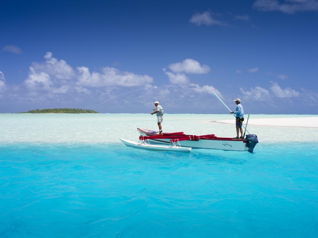 Aitutaki fishing photo by David Kirkland