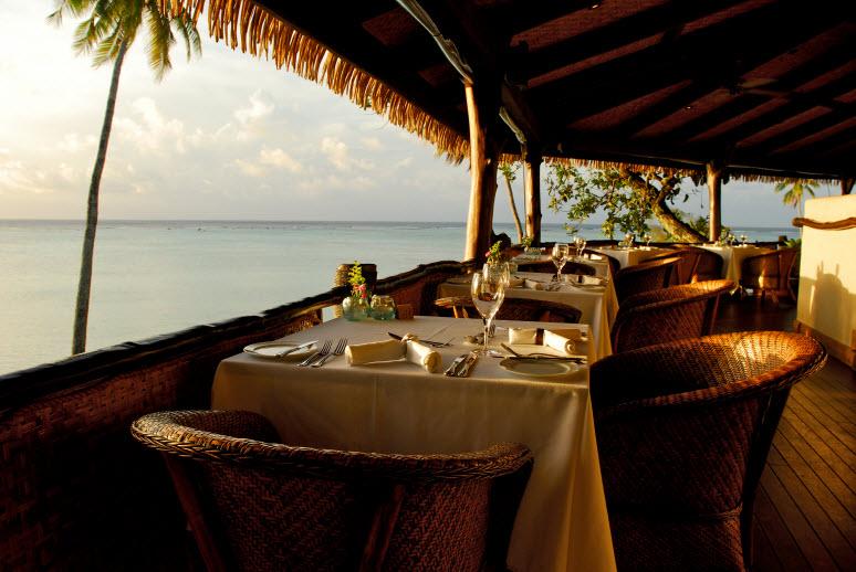 Pacific Resort Aitutaki - Rapae Restaurant