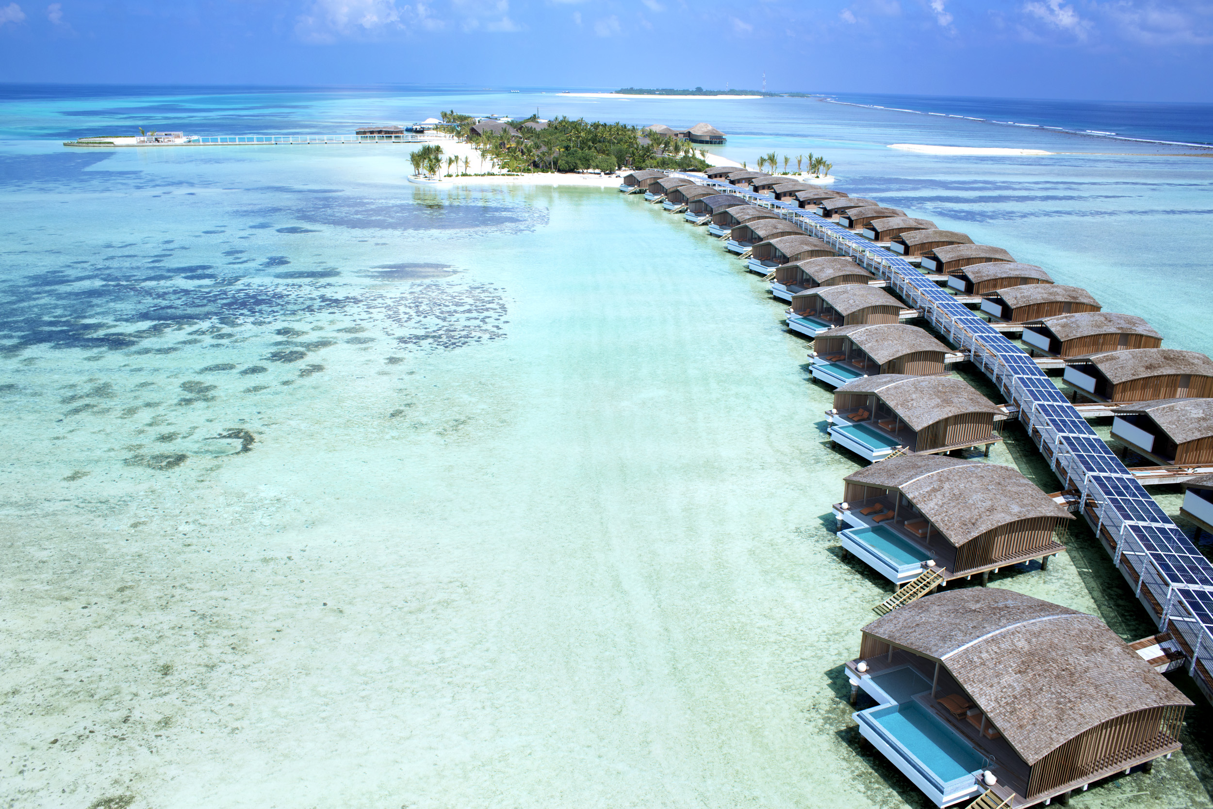A glimpse inside Club Med Finolhu Villas. Image: Club Med