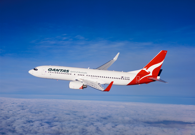 Qantas 737-800. Source: Qantas