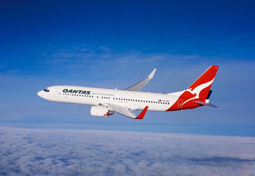 Qantas 737-800. Source: Qantas