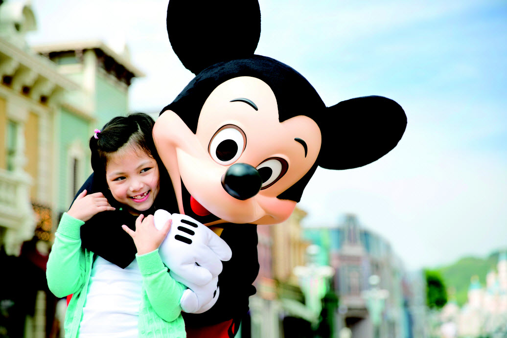 This image: Join Mickey at Disneyland Hong Kong, a Disney park which strikes the perfect balance between traditional and the new.