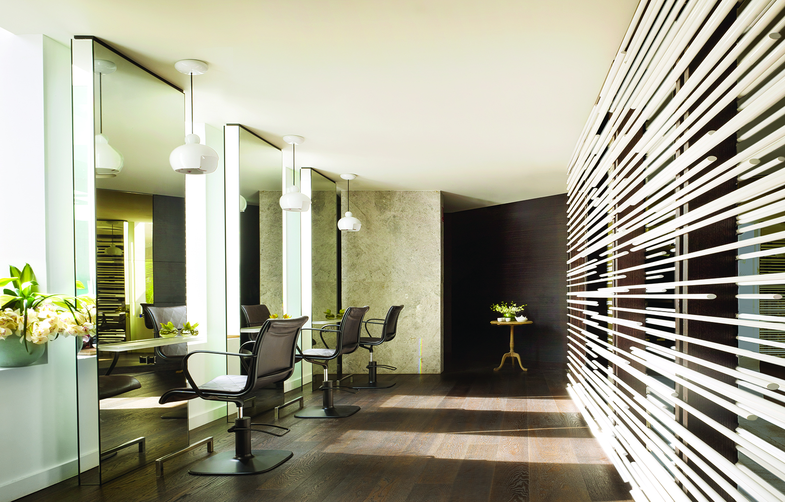 This image: The hair salon at One&Only Hayman Island.