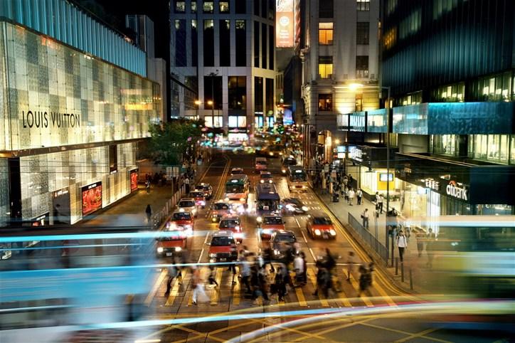 Hong Kong Island by night. Source: Hong Kong Tourism Board