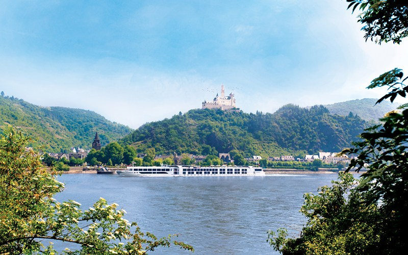 This image: Many guests chose the voyage because of the Romantic Rhine section, and it