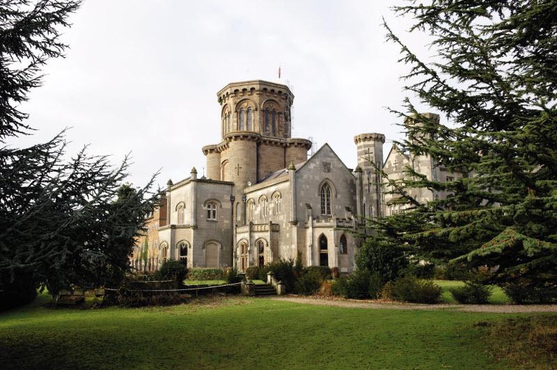 Studley Castle, Studley, England.