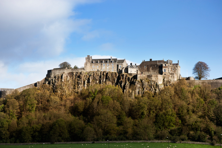 The green lady of Stirling Castle is said to be the ghost of one of Mary, Queen of Scots, servants. Image: Getty.